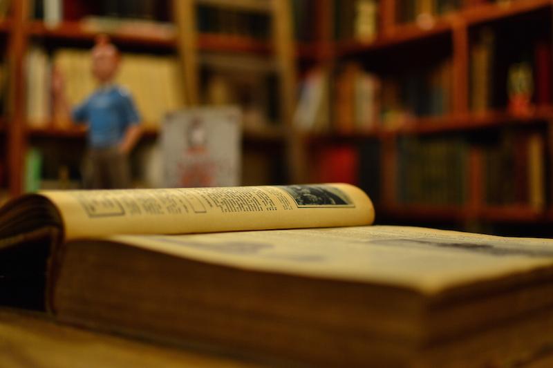 Visite insolite à Saint-Quentin Livres anciens