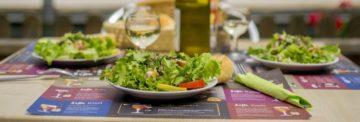 La salade d'anguille fumée du vivier d'omignon : restaurant original dans la Somme en Picardie