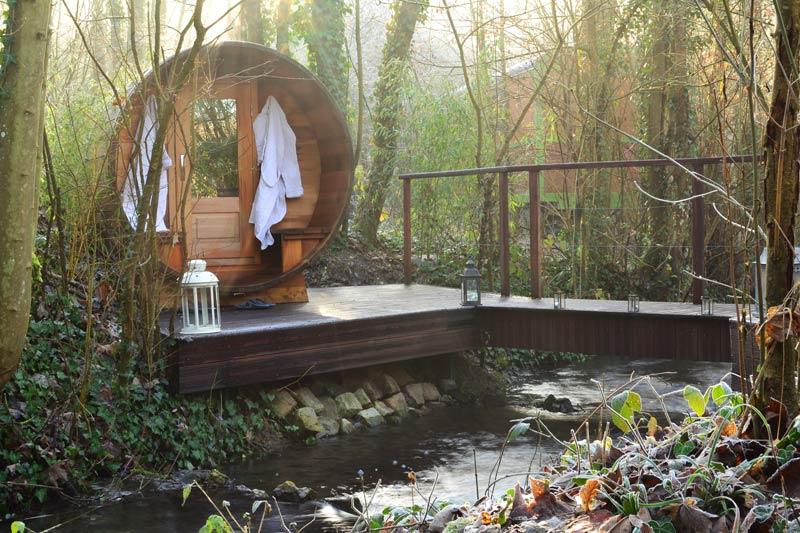 sauna privatif pour un weekend bien-être