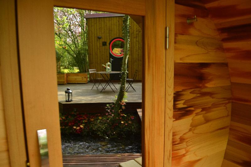 sauna pour un weekend détente