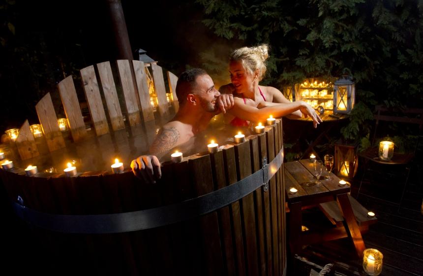 bain nordique spa privatif