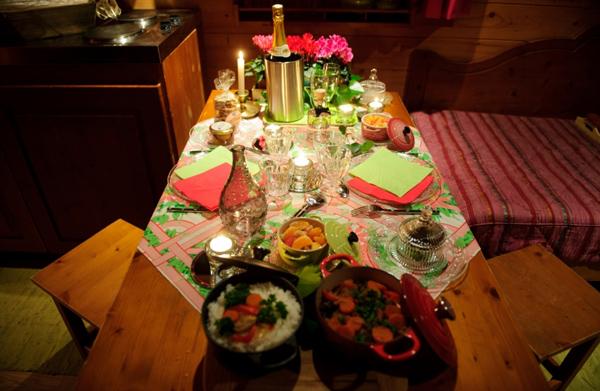 Repas en amoureux prparer un repas romantique ide repas st valentin la st valentin approche et - Idee de repas en amoureux ...