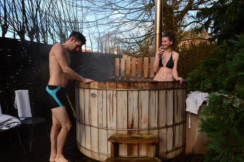 le bain nordique en amoureux