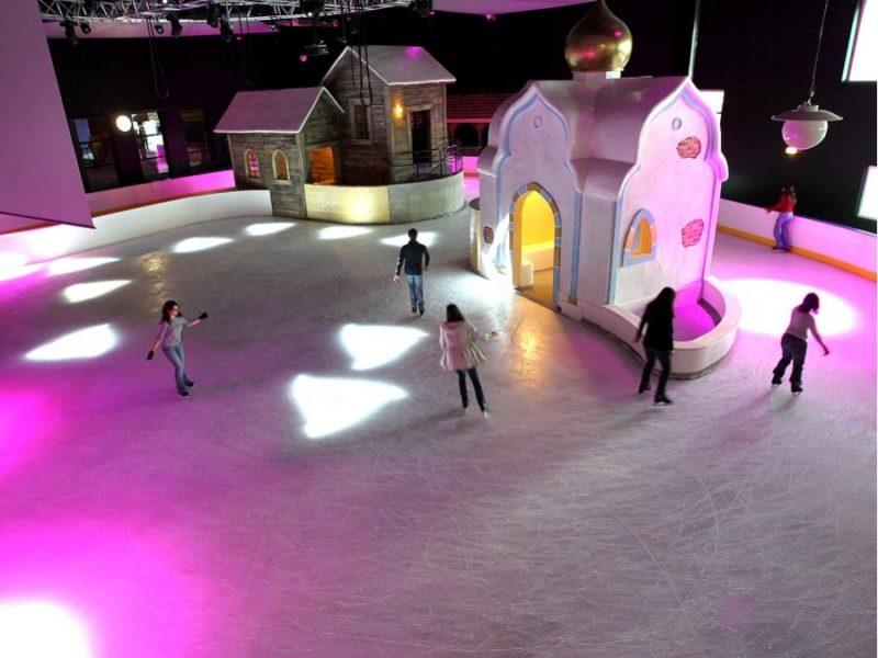 La patinoire de la BUL à Saint Quentin