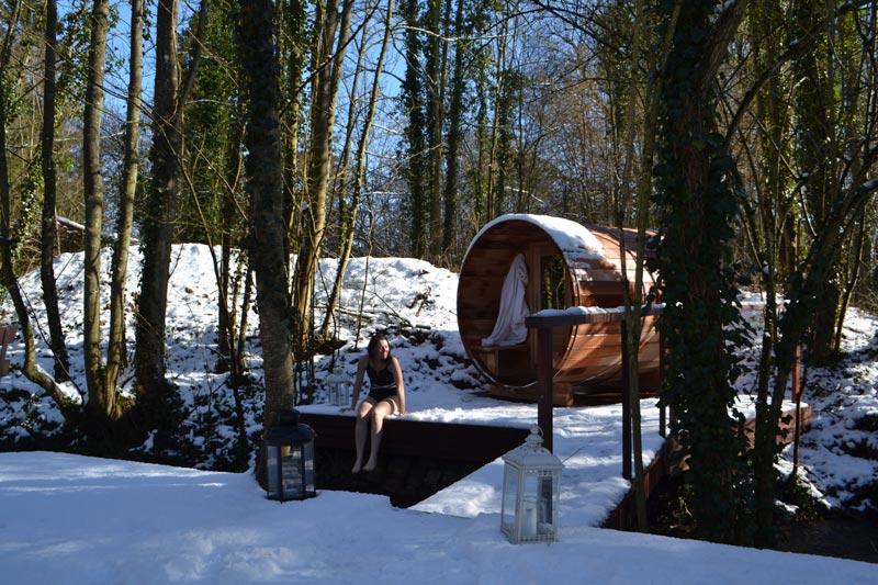 sauna comme en Finlande