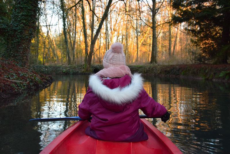 balade en canoe à La Maison de l'Omignon
