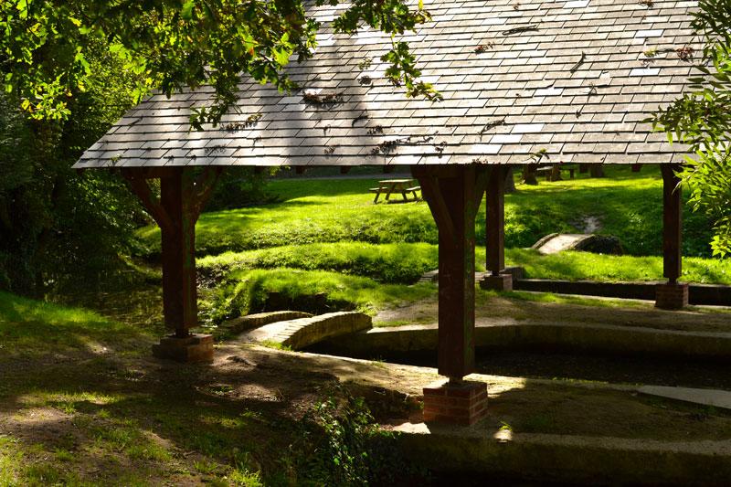 Le lavoir de Vermand près de La Maison de l'Omignon