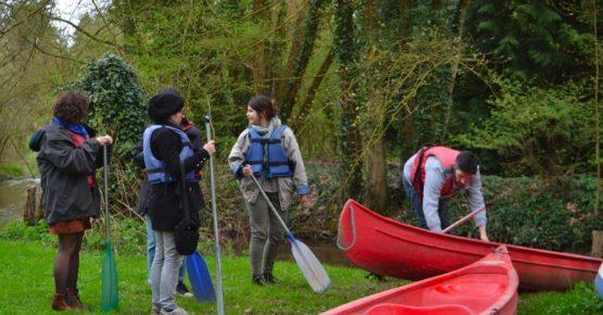 sortie canoe en groupe séjour insolite en picardie