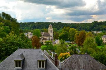 visite pierrefonds vue du château