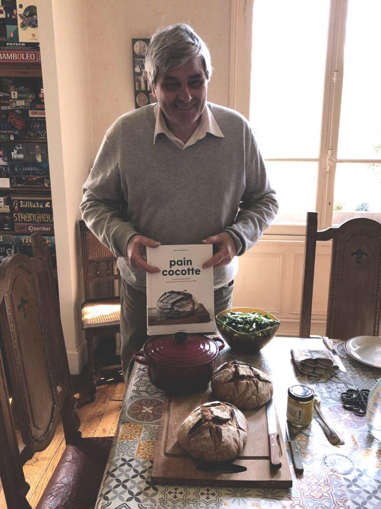 François et son pain cocotte au levain