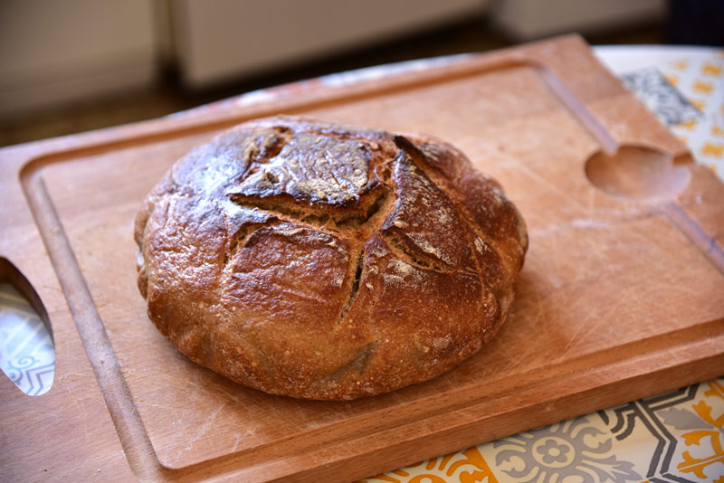 pain cocotte maison