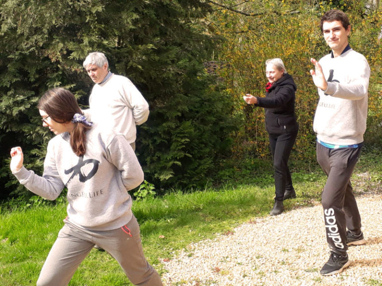 qi gong confinement