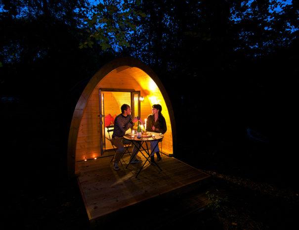 nuit en cabane en couple
