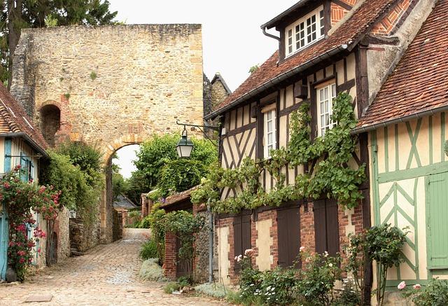 village romantique picardie
