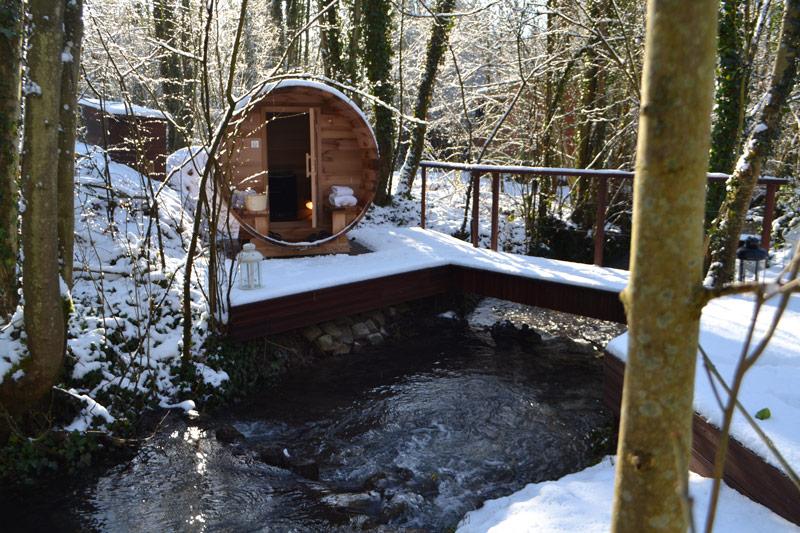weekend bien etre en amoureux avec sauna privatif