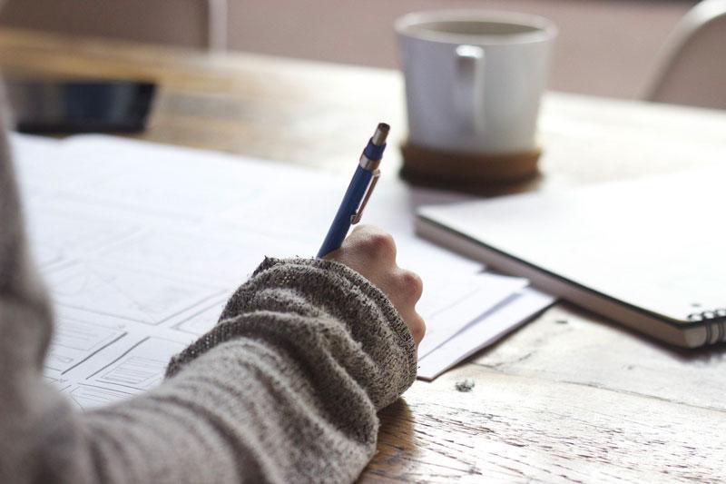méthode anti stress écrire les succès du jour dans un carnet